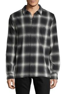 Hudson Jeans Printed Long-Sleeve Shirt