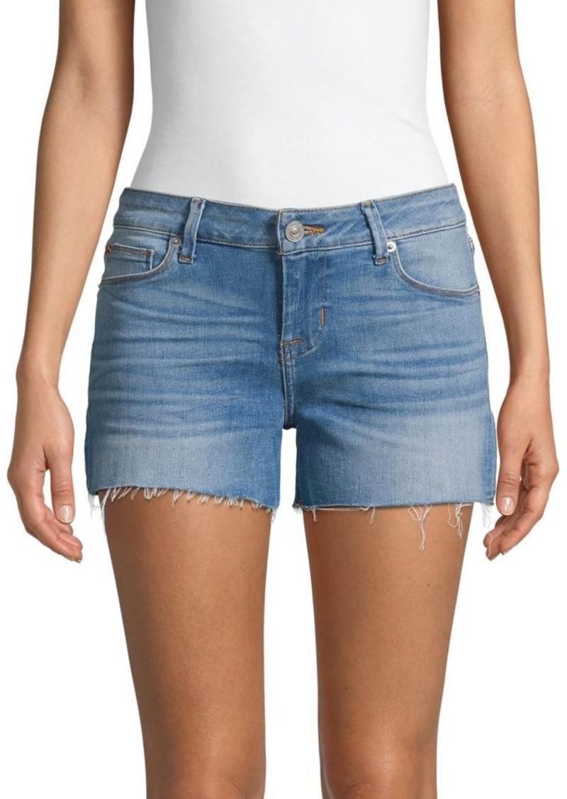 Hudson Jeans Raw Edge Denim Shorts