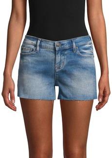 Hudson Jeans Raw Edge Jean Shorts