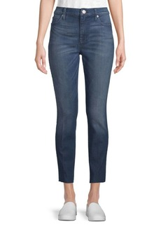 Hudson Jeans Released Hem Mid-Rise Ankle-Length Jeans