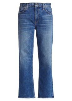 Hudson Jeans Remi High-Rise Cropped Straight Jeans