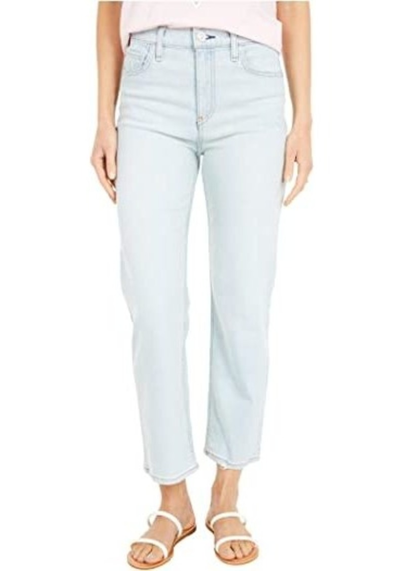Hudson Jeans Remi High-Rise Straight Cropped in Levitator