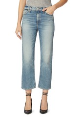 Hudson Jeans Remi High-Rise Straight Cropped Jeans