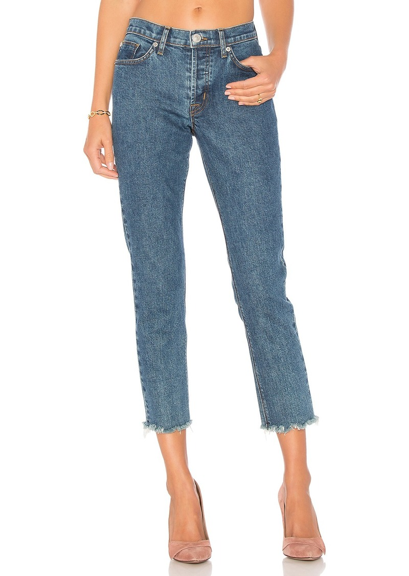 Hudson Jeans Riley Luxe Crop Fray Hem