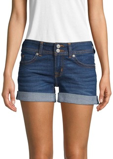 Hudson Jeans Rolled Cuff Denim Shorts