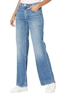 Hudson Jeans Rosie High-Rise Wide Leg in Hysteria