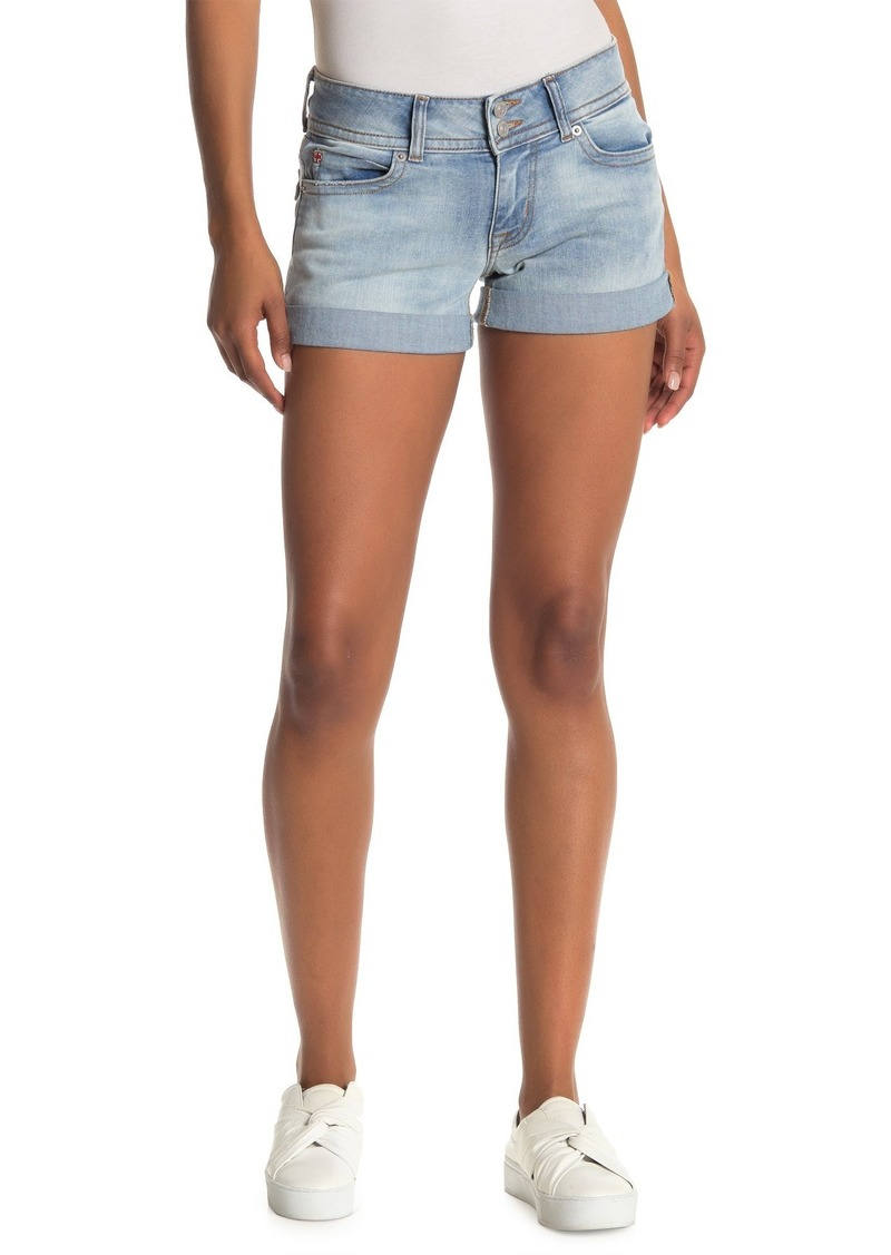 Hudson Jeans Ruby Mid Thigh Denim Shorts