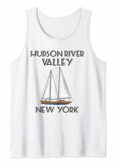 Hudson Jeans Sailing Hudson River Valley New York Tank Top