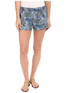 Hudson Jeans Siouxsie Printed Dophin Shorts in Forge