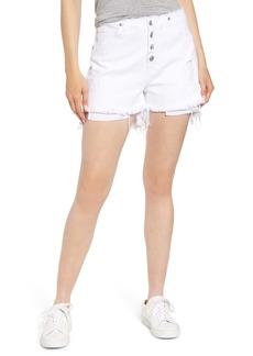 Women's Hudson Jeans Sloane Raw Waist Cutoff Shorts
