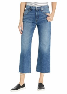 Hudson Jeans Sloane Extreme Baggy Crop in After Hours