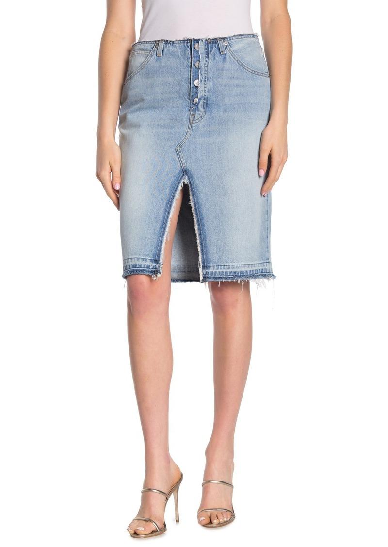Hudson Jeans Sloane Mid Length Skirt