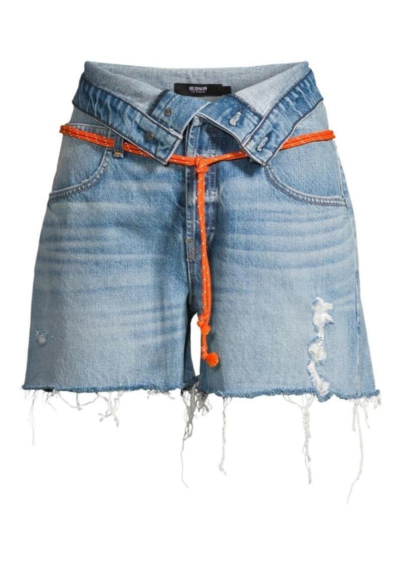 Hudson Jeans Sloane Relaxed Denim Shorts