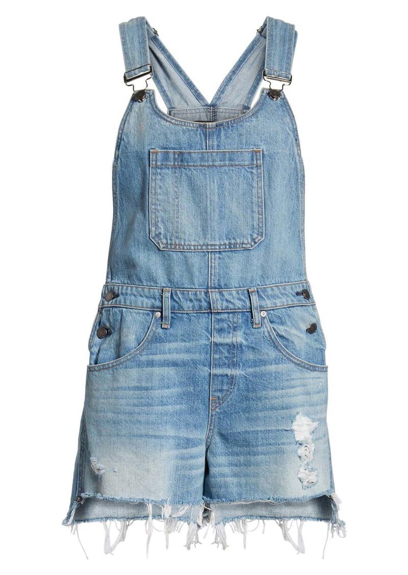 Hudson Jeans Sloane Short Overalls