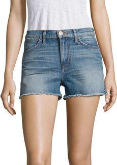 Hudson Jeans Soko High-Rise Cut-Off Denim Shorts