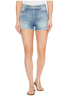 Soko High-Rise Cut Off Five-Pocket Shorts in Endurance