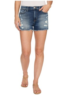 Hudson Jeans Soko High Rise Cut Off Shorts in Legit