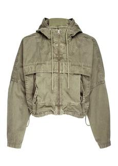 Hudson Jeans Sport Hoodie Jacket