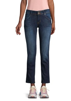 Hudson Jeans Straight Ankle Jeans