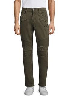Hudson Jeans Straight Leg Moto Jeans