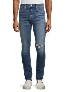 Hudson Jeans Straight-Leg Stretch Jeans