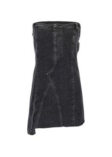 Hudson Jeans Strapless Denim Mini Dress