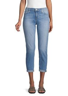 Hudson Jeans Super-Skinny Crop Jeans