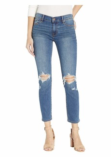 Hudson Jeans Tally Mid-Rise Skinny Crop in B-Good