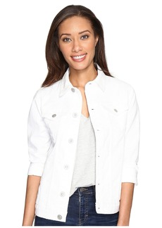Hudson Jeans The Classic Denim Jacket in White Vintage