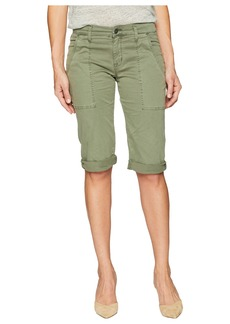 Hudson Jeans The Leverage Mid-Rise Cargo Shorts in Forester