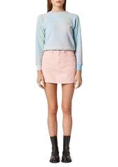 Hudson Jeans The Viper Denim Mini Skirt