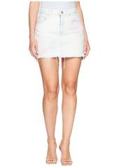 Hudson Jeans The Viper Mini Skirt in Not That Innocent
