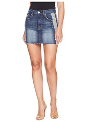 Hudson Jeans The Viper Mini Skirt in Rip Love