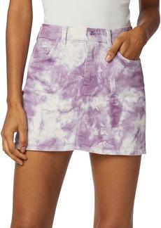 Hudson Jeans The Viper Tie-Dye Mini Skirt