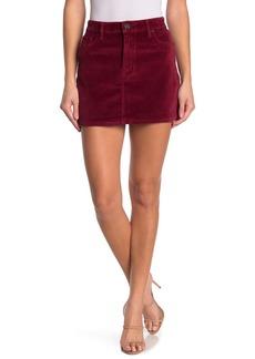 Hudson Jeans The Viper Velvet Mini Skirt