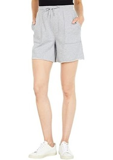 Hudson Jeans Utility Lounge Shorts in Heather Grey