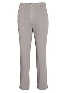 Hudson Jeans Utility Straight-Leg Chino Pants