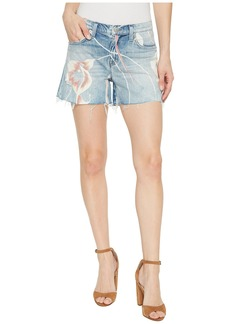 Hudson Jeans Valeri Cut Off Jean Shorts in In Bloom