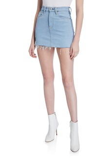 Hudson Jeans Viper Denim Mini Skirt