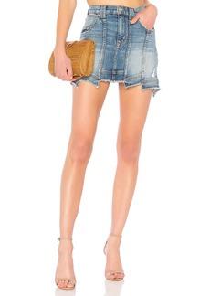 Weekender Step Hem Skirt