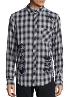 Hudson Jeans Weston Instinct Checked Shirt