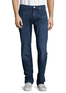 Hudson Jeans Whiskered Fitted Jeans