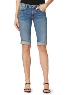 Women's Hudson Jeans Amelia Cuff Denim Bermuda Shorts