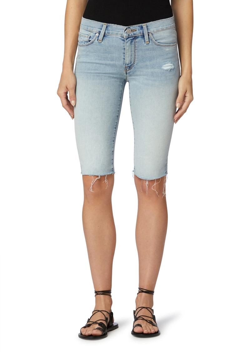 Women's Hudson Jeans Amelia Knee Length Cutoff Denim Shorts