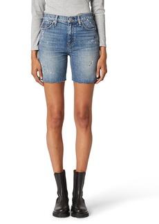 Women's Hudson Jeans Hana High Waist Cutoff Denim Bike Shorts