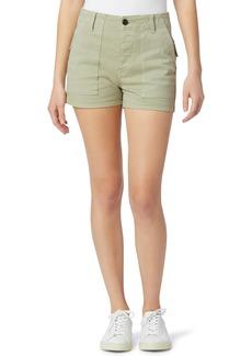Women's Hudson Jeans Military High Waist Cotton Blend Shorts