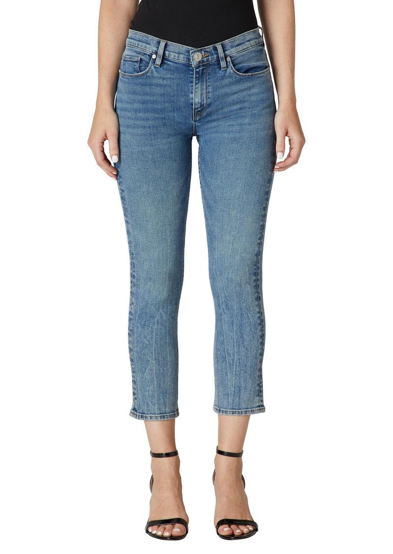 Women's Hudson Jeans Nico Fray Hem Crop Straight Leg Jeans