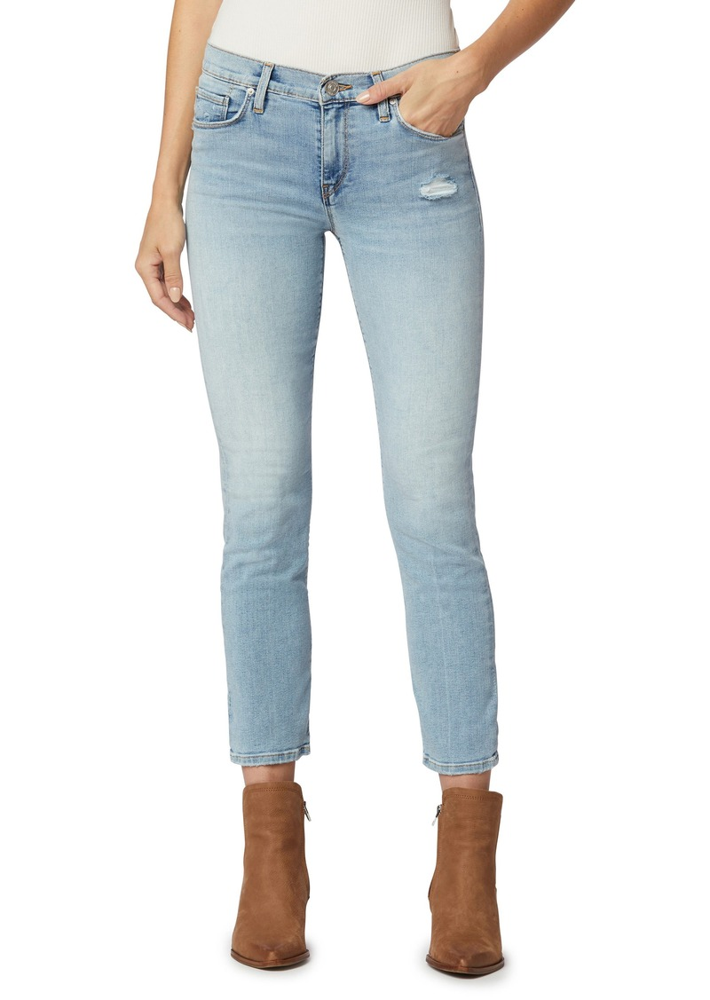 Women's Hudson Jeans Nico Ripped Ankle Straight Leg Jeans