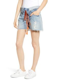 Women's Hudson Jeans Sloane Foldover Waist Cutoff Denim Shorts