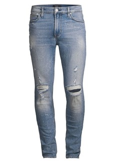 Hudson Jeans Zack Distressed Skinny Jeans